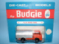 Budgie Miniatures No.24 Refuse Truck - blue blister-pack