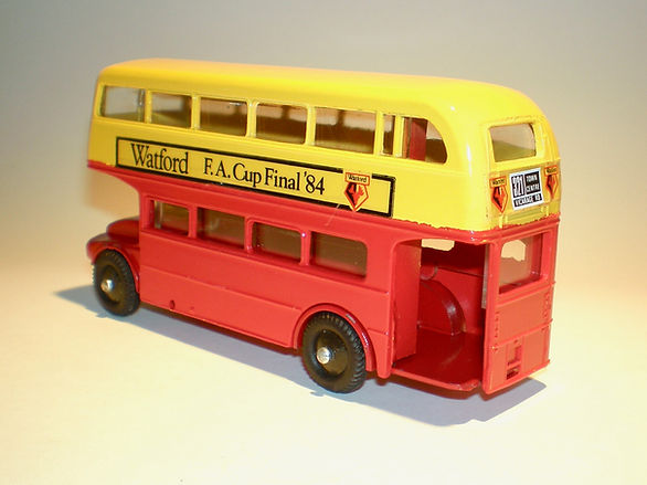 Budgie No.706 Routemaster Bus 'Watford FA Cup Final'
