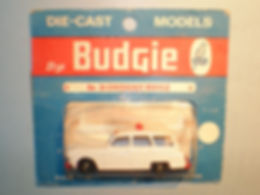 Budgie Miniatures No.20b Emergency Vehicle - blue blister=pack