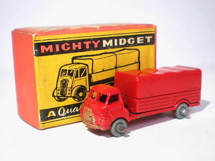 Benbros Mighty Midget No.31 Bedford Covered Truck
