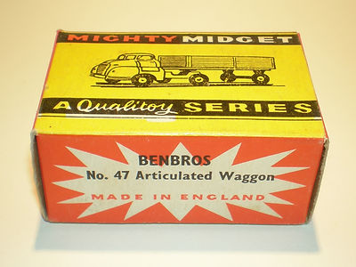 Benbros Mighty Midget No.47 Articulated Wagon box