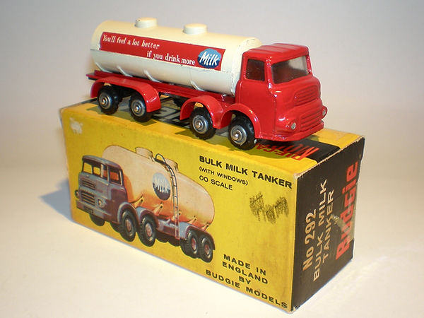 Budgie No.292 Bulk Milk Tanker