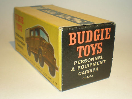 Budgie No.208 Personnel & Equipment Carrier (RAF) box