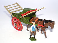 Britains Lilliput World Vehicle Series LV/606 Tumbrell Cart