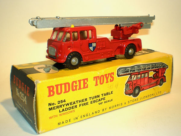 Budgie No.254 Merryweather Turntable Ladder Fire Escape