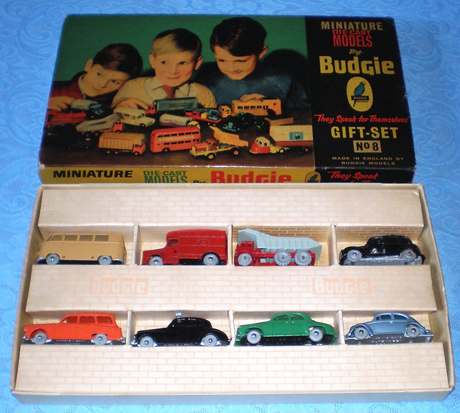 Budgie Miniatures Gift Set No.8