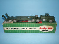 Kemlows Sentry Box Tank Transporter