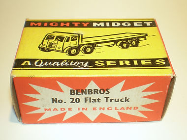 Benbros No.20 Flat Truck Mighty Midget box