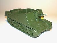 Britains Lilliput Vehicle Series LV/611 Sexton Self-Propelled Gun