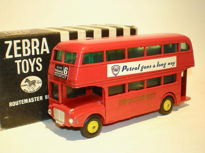 Benbros Zebra Toys Routemaster Bus