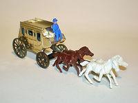Budgie Miniatures No. 410 Wells Fargo Stage Coach