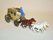 Budgie No.410 Wells Fargo Stage Coach (small scale)