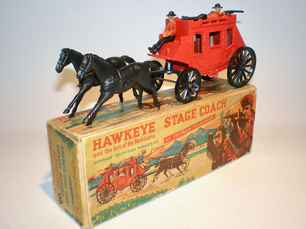 Morestone Essem Hawkeye Last of the Mohicans Stage Coach