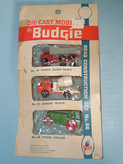 Budgie Miniatures No.96A Road Construction Set