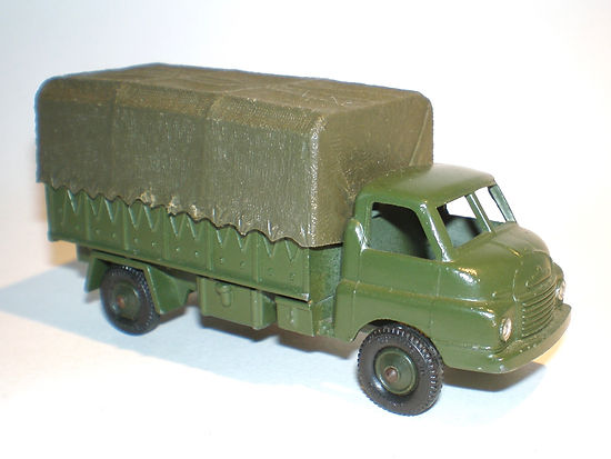 Britains Lilliput Vehicle Series LV/607 Army 3-Ton Covered Truck