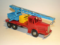 Budgie No.214 Salvage Crane