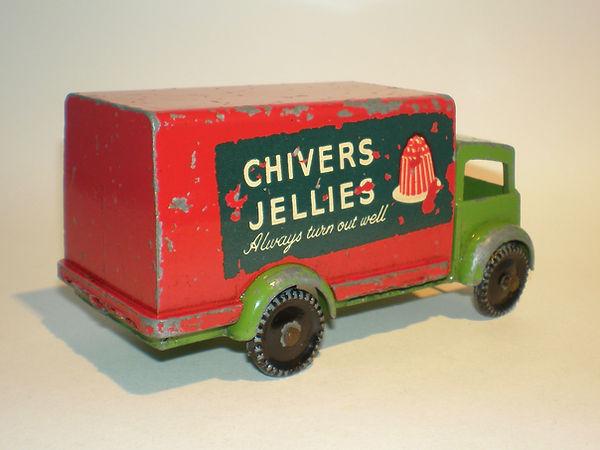 Benbros Qualitoy Delivery Van 'Chivers Jellies'