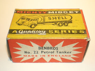 Benbros No.22 Petrol Tanker Mighty Midget box