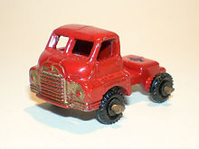 Benbros Nos.43-48 Bedford Cab - dark-red, gold trim