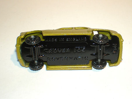 Budgie Miniatures No.19 Rover 105 base
