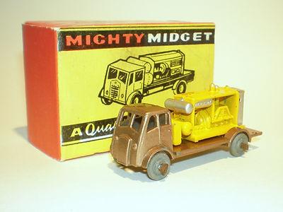 Benbros Mighty Midget No.32 Compressor Wagon - metallic brown