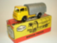 Budgie Miniatures No.24 Refuse Truck - yellow