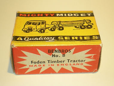 Benbros No.8 Foden Timber Tractor Mighty Midget box