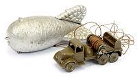 Britains Miniature Vehicle No.1855 Balloon Barrage Unit