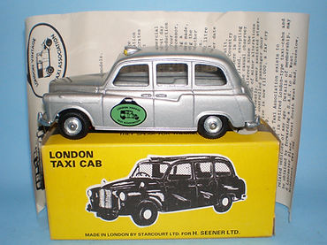 Budgie No.101 London Taxi Cab (LVTA Edition)