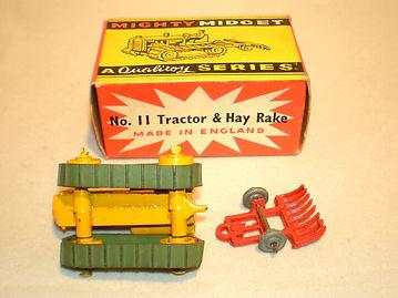 Benbros No.11 Tractor & Hay Rake undersides