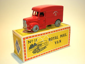 4d1fe61011d344 Budgie Diecast Miniatures No.11 Royal Mail Van vintage toy