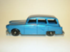 Budgie Miniatures No.61 Q Car - metallic blue