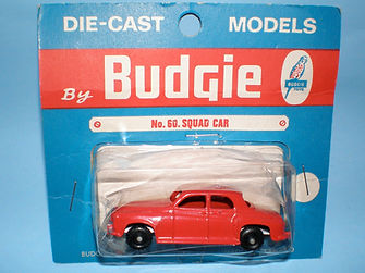 Budgie Miniatures No.60 Squad Car - blue blister-pack