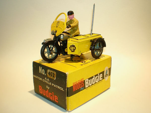 Budgie No.452 AA Motorcycle Patrol (Series 1)