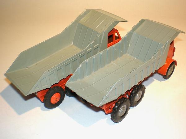 Budgie No.226 Foden Dump Truck dumper variations
