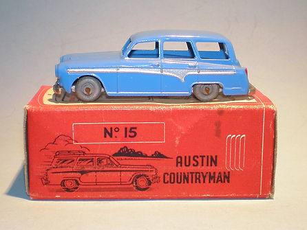 Morestone Esso Petrol Pump Series No.15 Austin Countryman