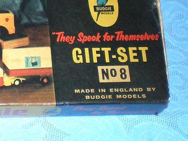 Budgie Miniatures Gift Set No.8 maker's name