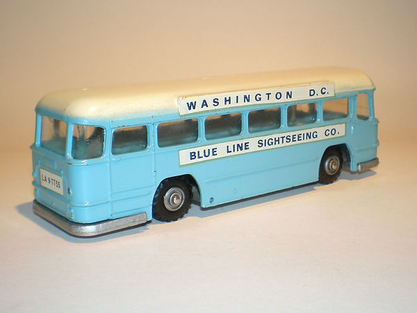 Budgie No.296 Motorway Express Coach (US livery colours)