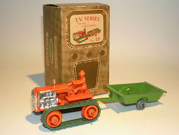 Benbros TV Series No.19 Tractor & Trailer