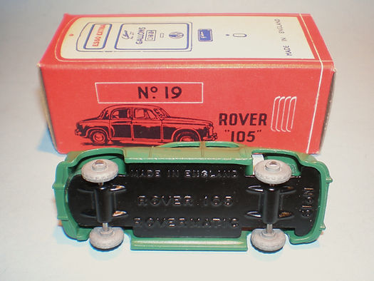Morestone Esso Petrol Pump Series No.19 Rover 105 - base