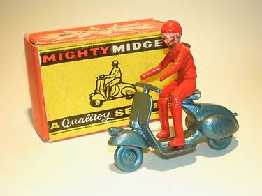 Benbros Mighty Midget No.15 Vespa Scooter