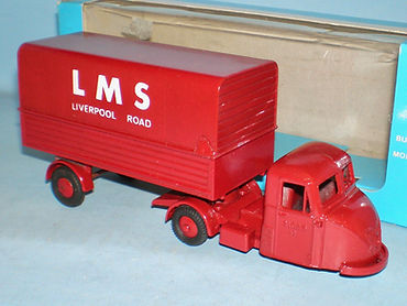 Budgie No.702 Scammell Scarab Van 'LMS'
