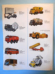 Budgie Models Catalogue 1964
