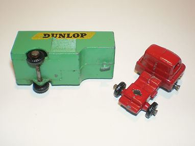 Benbros Mighty Midget No.43 Articulated Van - coupling