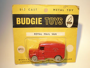 Budgie Miniatures No.11 Royal Mail Van - yellow blister-pack