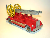 Morestone Fire Engine with Extending Ladder