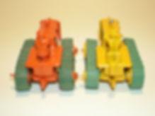 Benbros No.17 Tractor & Harrow seat variations