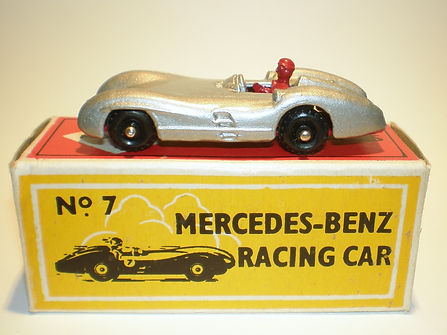 Budgie Miniatures No.7 Mercedes-Benz Racing Car