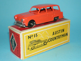 Budgie Miniatures No.15 Austin Countryman - bpw, Modern (type 1) box