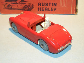 Morestone Esso Petrol Pump Series No.16 Austin-Healey